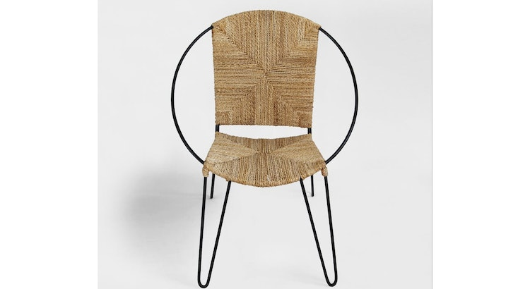 Introducing The Modern Ring Rope Chair!