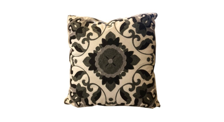 Get Your Hands On Our Beautiful Embroidered Pillow!