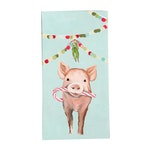 Festive Pig Tea Towels