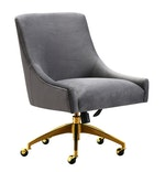 The Beatrix Grey Office Swivel Chair