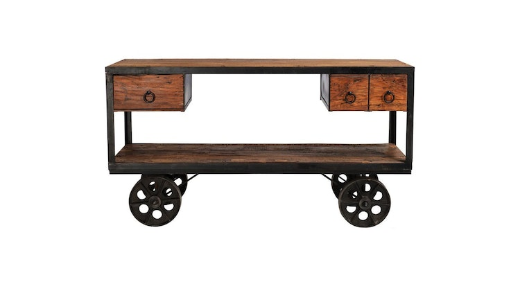 The Ferrer Console Table Is One Of A Kind!