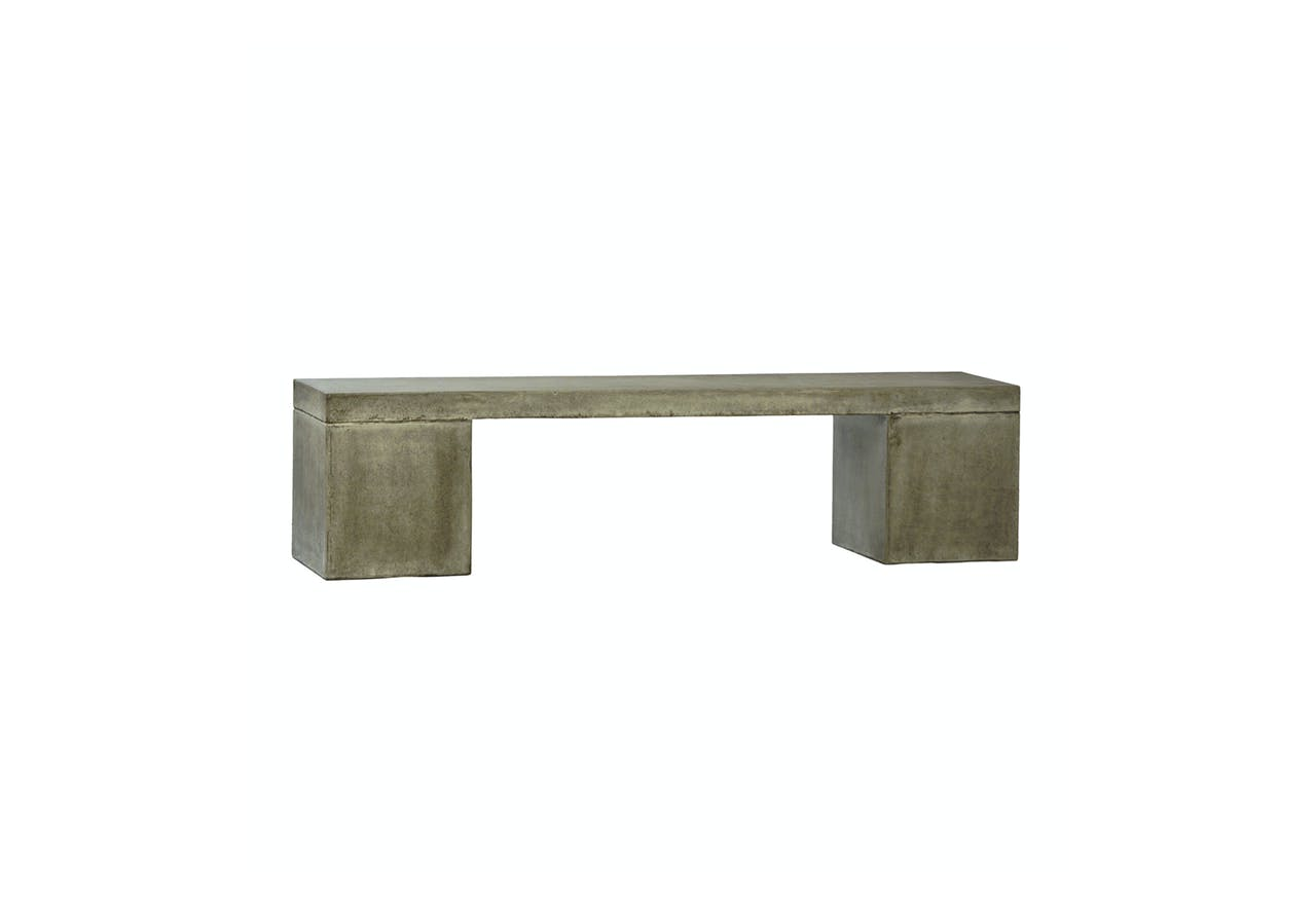 Outdoor Block Bench Mix Furniture Boutique In Los Angeles Ca