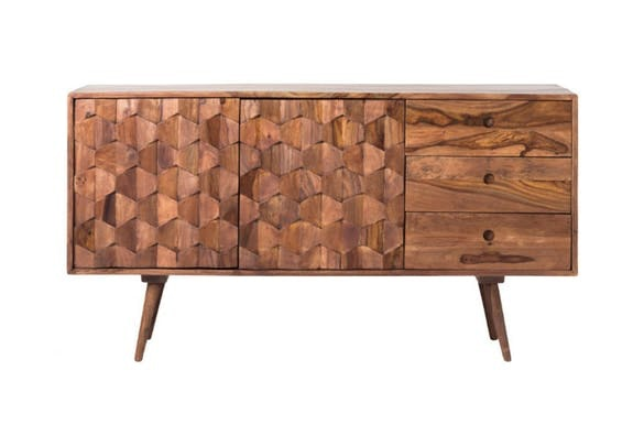 We LOVE Our Mid Century Modern Sideboard!