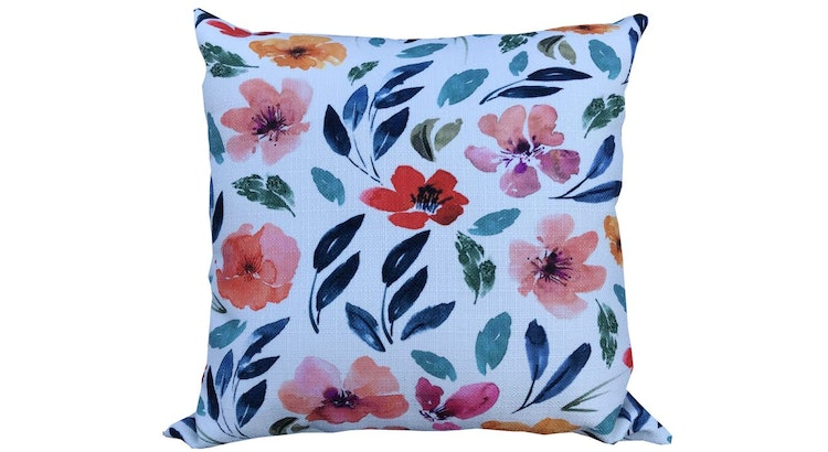 Check Out Our Floral Throw Pillow!