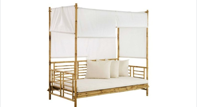 The Bamboo Daybed Is Our Hottest Item