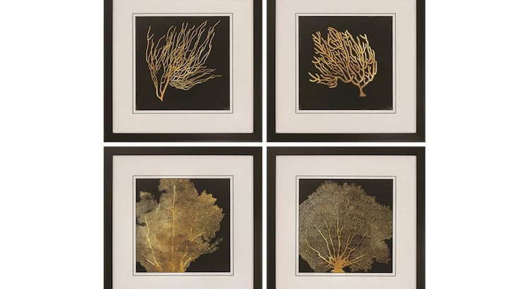This Set of Coral Art Prints Is Stunning!