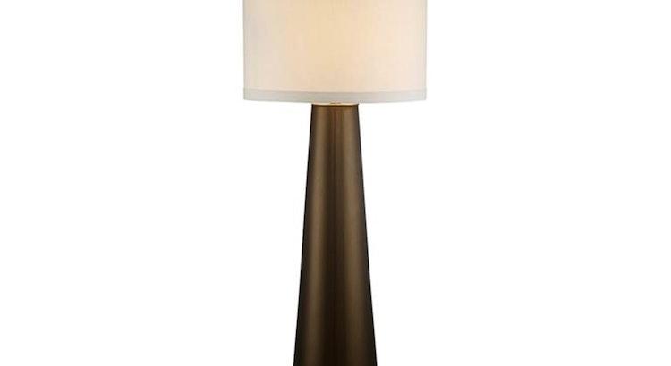 The Karen Dark Gold Glass Table Lamp Is So Stunning!