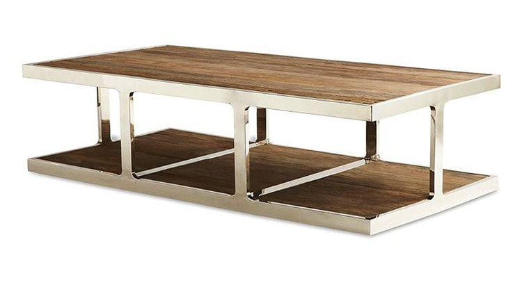 Introducing Our Gorgeous Reclaimed Wood Coffee Table!