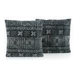 Maina Bogolan Print Pillow Set