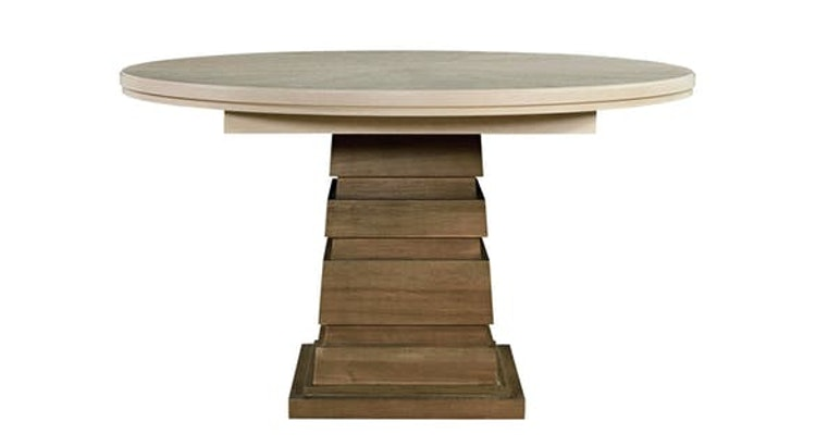 You Need Our Round Dining Table in Your Life! It Has a Leaf!