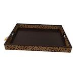 Decorative Animal Print Tray