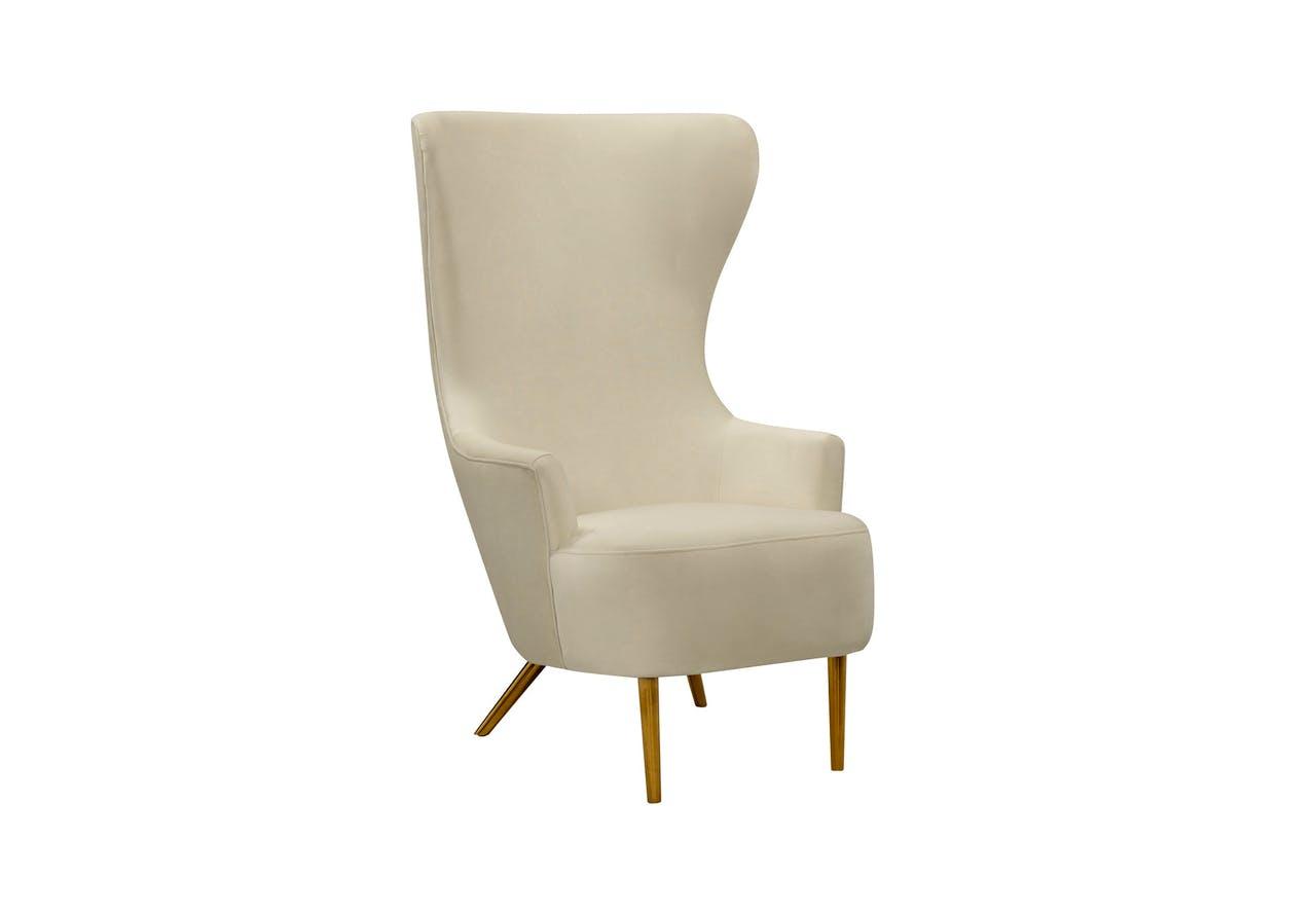Julia Cream Wingback Chair Nest Luxury Living Boutique