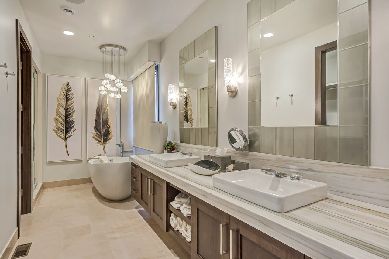 Spotlights on Our Deer Valley, Utah Project! Check Out This Drool Worthy Bathroom!