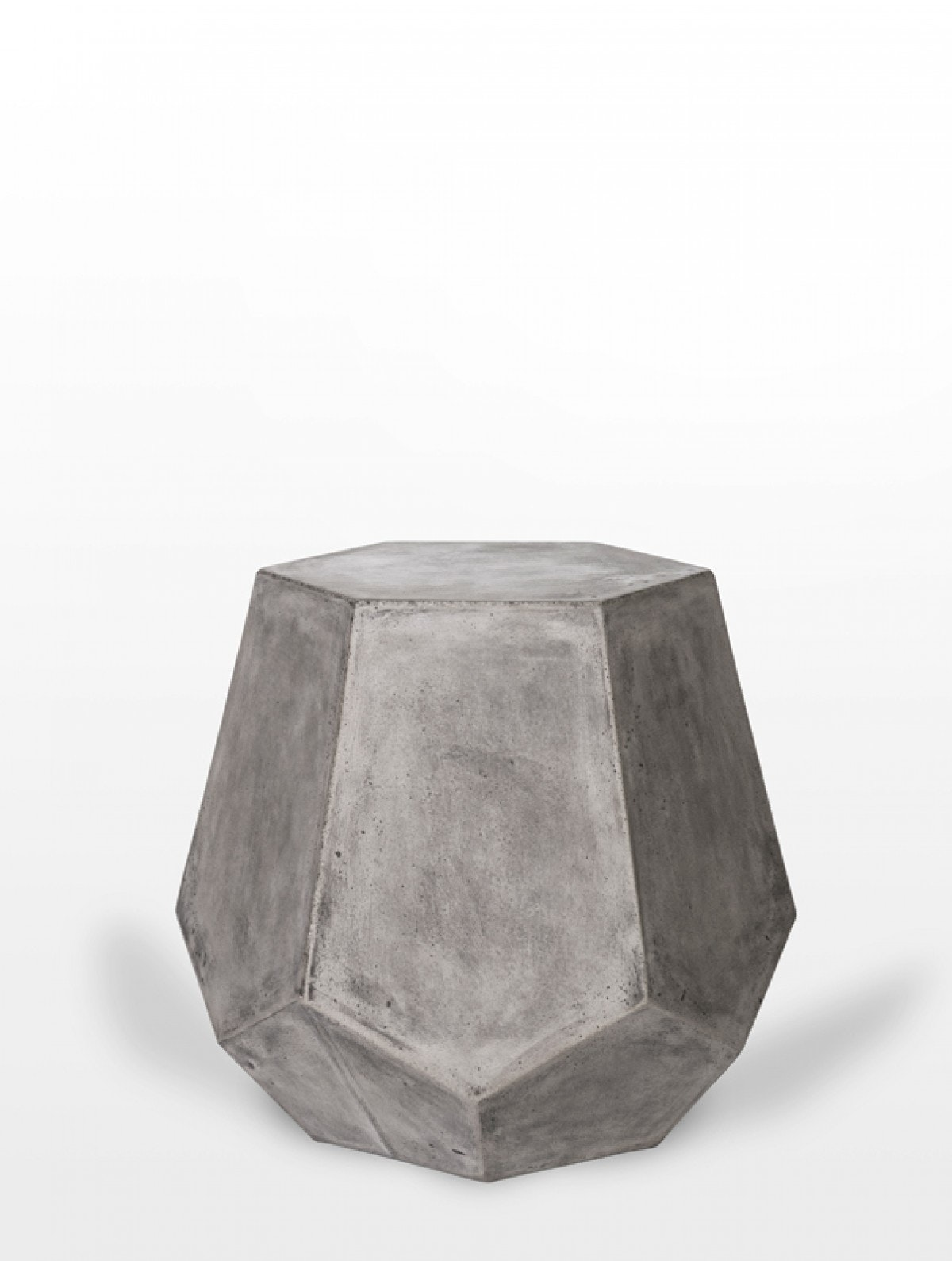 Picture of: The Emit Modern Concrete Stool Side Table Nest Luxury Living Boutique Furniture In South Daytona Fl