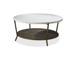 Playlist Round Cocktail Table