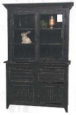 Rustic Black Cabinet