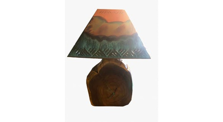 Our Southwestern Lamp Is Lovely!
