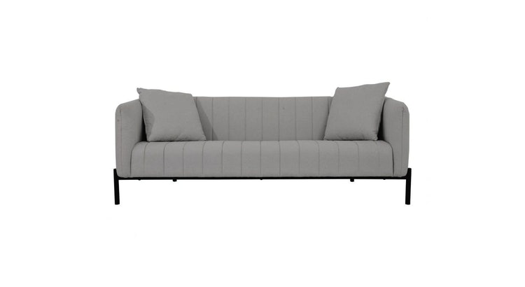 Fall In Love With Our Light Gray Sofa!