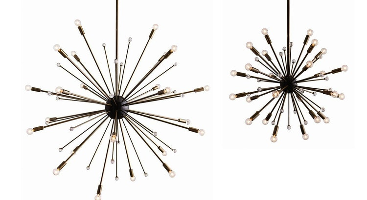 We Are In Awe Of The Arteriors Imogene Chandelier!