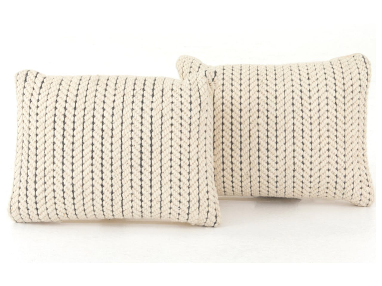 Superb Abena Rope Weave Pillow Set Rectangular 16X24 Ocoug Best Dining Table And Chair Ideas Images Ocougorg