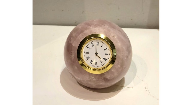 The Amethyst Sphere Clock Is So Pretty!