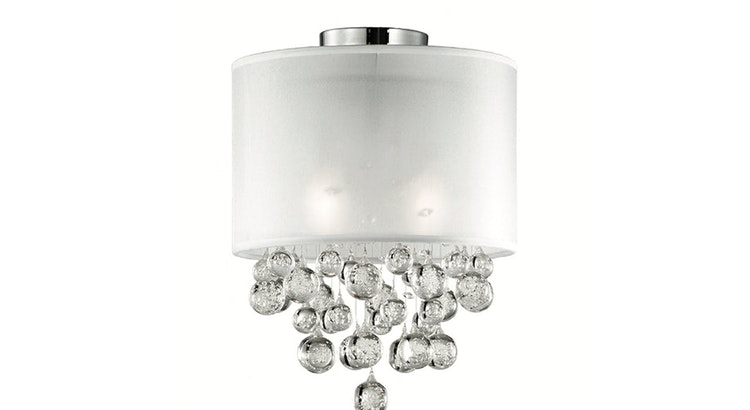 Prepare To Be Smitten With The Beverly Flush Mount!