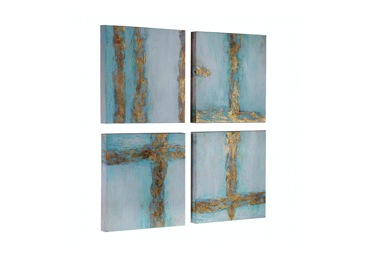 Cross Roads Hand Painted Canvas Absolute Design Interiors Boutique Furniture In Omaha Ne