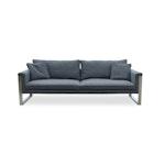 The Boston Sofa, Stainless Steel Base