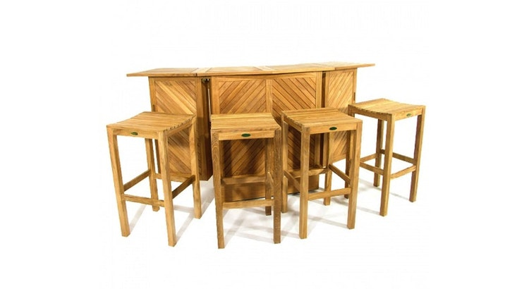 The Somerset Teak Bar Is Perfect For Your Outdoor Space!