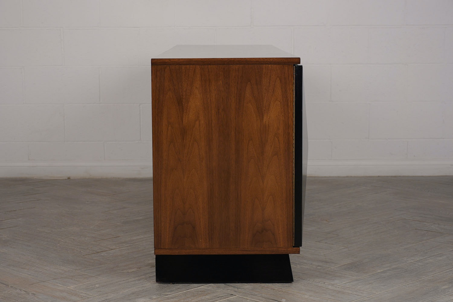 A Vintage 1960 S 3 Section Mid Century Modern Credenza Castle Antiques Inc Boutique Furniture In North Hollywood Ca