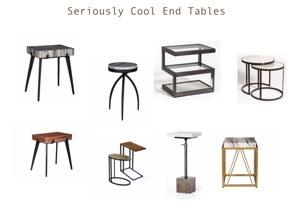 Shop Our Seriously Cool End Tables!
