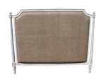 Noir Isabelle White Wash Headboard (General King)