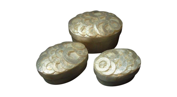 These Capiz Shell Jewelry Boxes Are Divine!