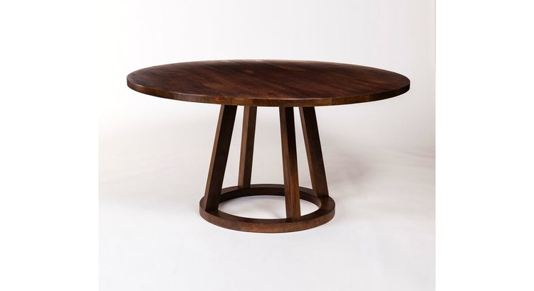 The Mendocino Round Dining Table Is Timeless!