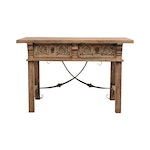 Early 1900's Spanish Style Library Table