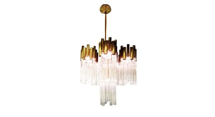 The Royal 1 Chandelier is Dazzling!