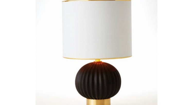 The Caprice Table Lamp Is So Stunning!