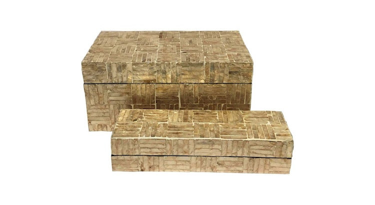 Presenting The Mother of Pearl Decorative Boxes!