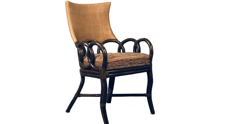 Presenting The Rattan Wicker Marvel Arm Chair!