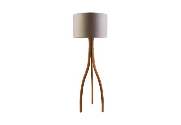 Spotlights on the Duxbury Floor Lamp!