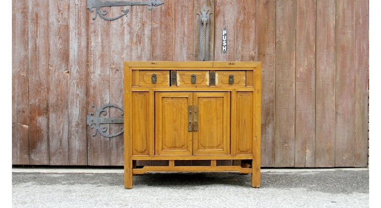 The Vintage Sugi Cedar Buffet Is Not To Be Missed!