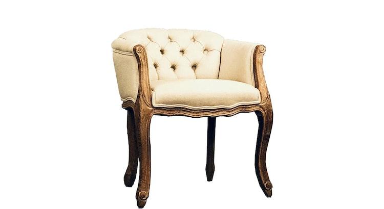 Our Vanity Chair Is Drool Worthy!