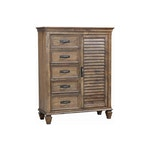 Burnished Oak Chest