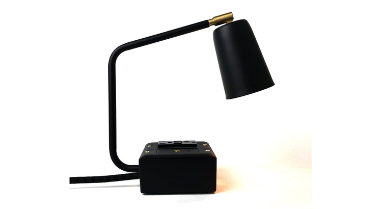 The Carrara Black Task Lamp is Simply Amazing!