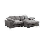 Jordan Sectional Sofa, Charcoal