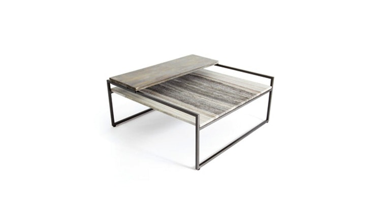Presenting The Sliding Top Coffee Table!