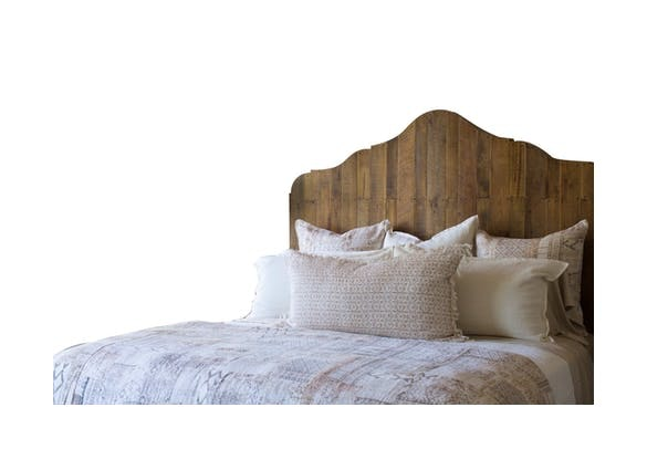 Take a Peek at Our Favorite Bed Made Out of Reclaimed Pallets In Our Alabama Shop!