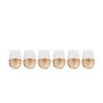Vittorio Stemless Wine Glass