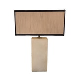 Contemporary White Marble Lamp