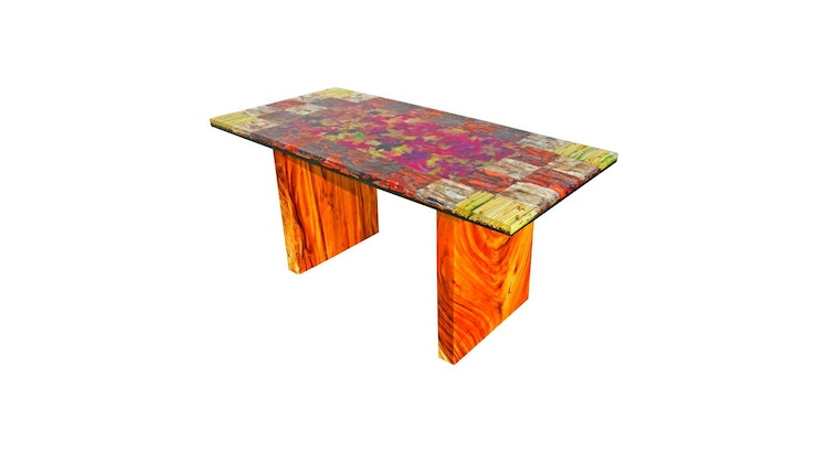 Our Organic Modern Autumn Leaves Dining Table Is Phenomenal!